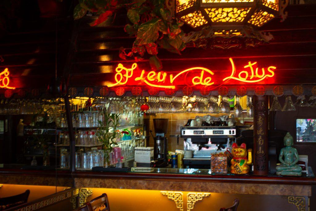 restaurant fleur de lotus Cagnes sur mer